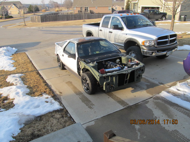 Suspension Rear Wheel Drive Conversion Dodge Daytona