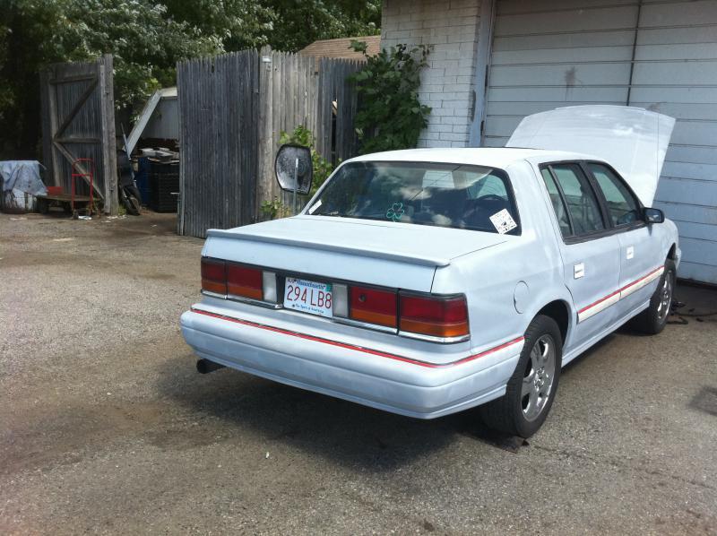 1991 Dodge spirit r/t - $1300 obo - Turbo Dodge Forums : Turbo Dodge ...