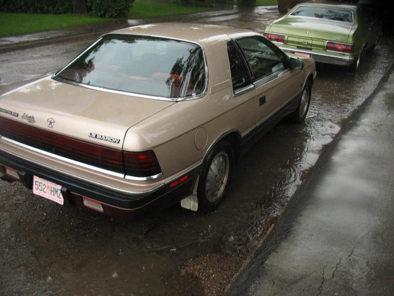 1987 chrysler lebaron for sale