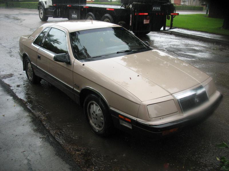 1987 chrysler lebaron -  1500