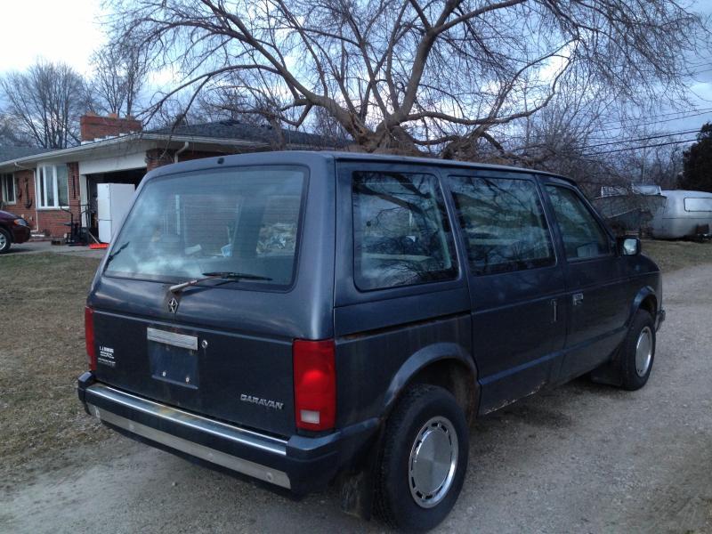 1987 Dodge Caravan 5 Speed 950 Turbo Dodge Forums