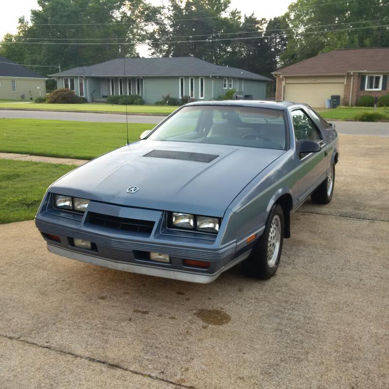 1985 Chrysler Laser Xe 2500 Turbo Dodge Forums