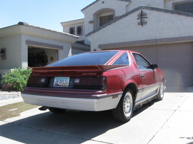 1984 Dodge Daytona Turbo Z 2450 Turbo Dodge Forums