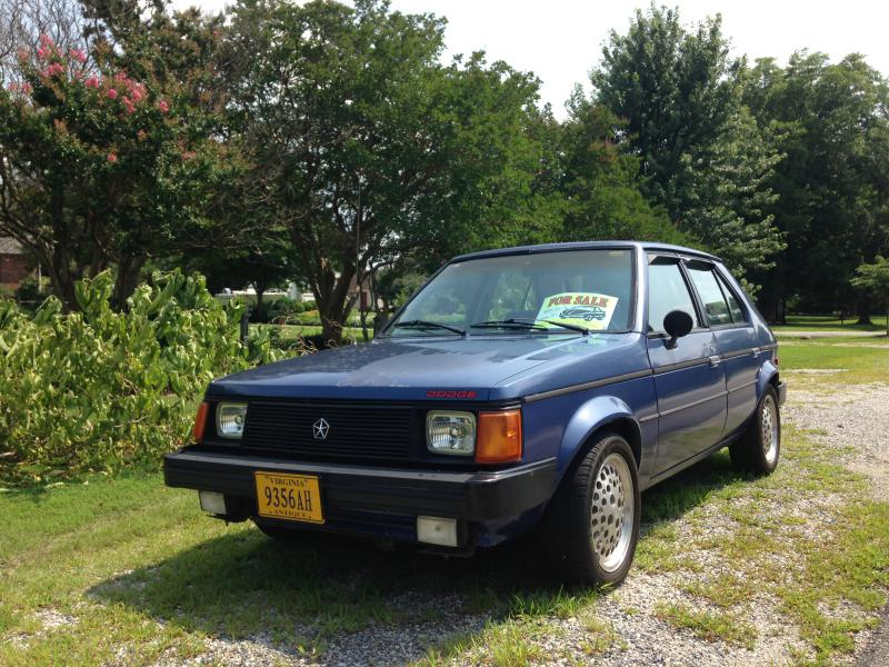 One Owner Car Guy >> 1984 Dodge Omni GLH - $1800 - Turbo Dodge Forums : Turbo ...