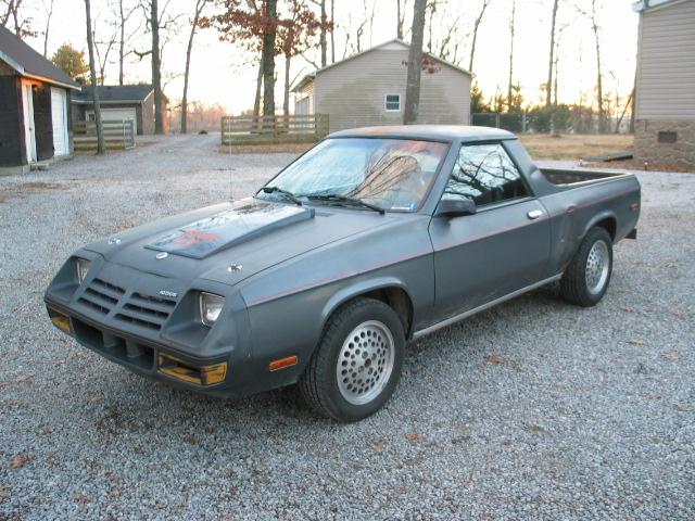 1982 Dodge Rampage - $1200.00 - Turbo Dodge Forums : Turbo ...