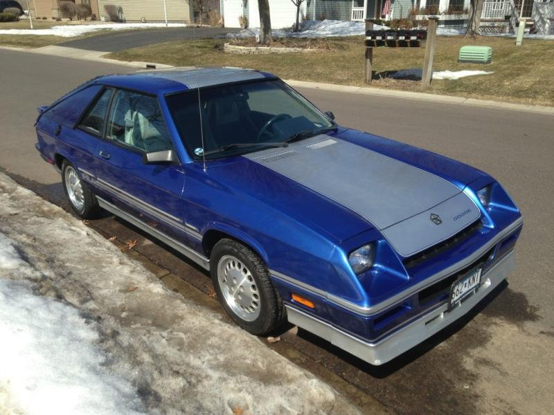 1984 Dodge Shelby Charger 4 250 00 Turbo Dodge Forums