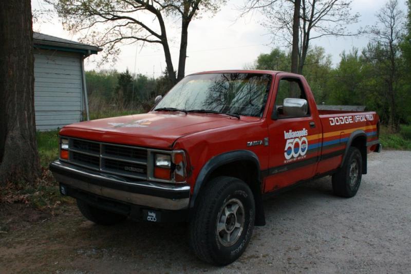 1987 dodge dakota indy 500 official truck 3k turbo dodge forums turbo dodge forum for. Black Bedroom Furniture Sets. Home Design Ideas