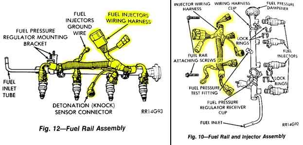 Fuel Harness Ground Wire