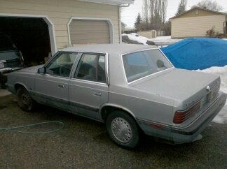 1989 chrysler k car