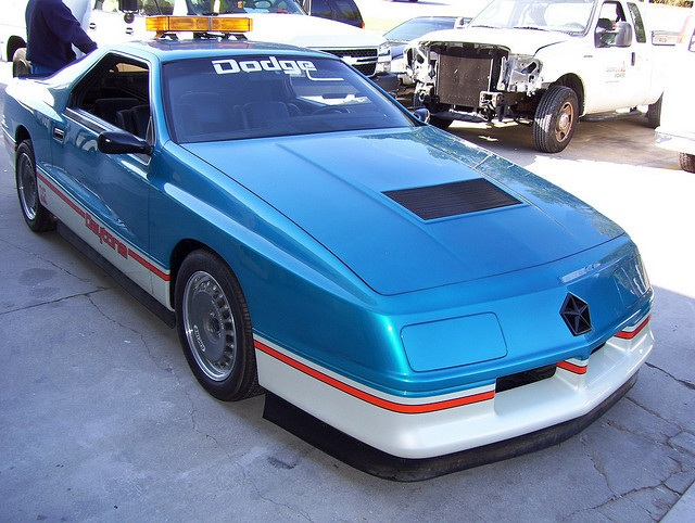 Ppg Pace Car Aerodynamic Extensions Completed Turbo Dodge