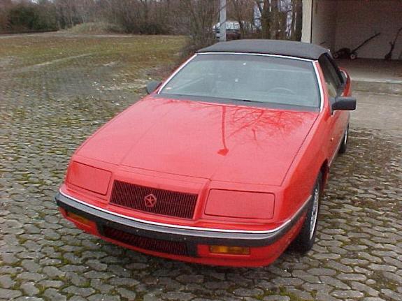 Chrysler Lebaron Convertible. 1989 Chrysler Lebaron GTC
