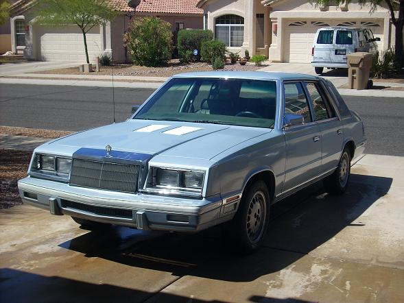 D Chrysler New Yorker Inop Marriage License on Crap Cars