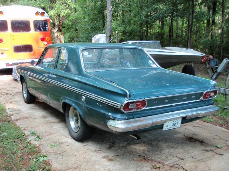 1965 Dodge Dart 270 2 Door Sedan 4900 Turbo Dodge