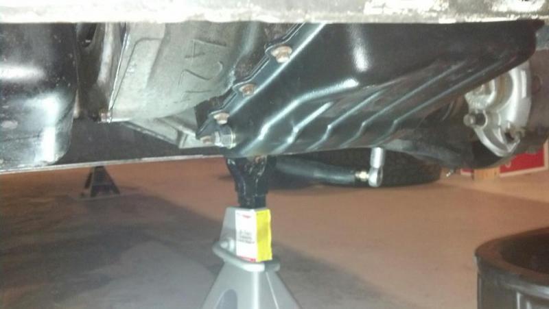 Transmission Drain Plug Install