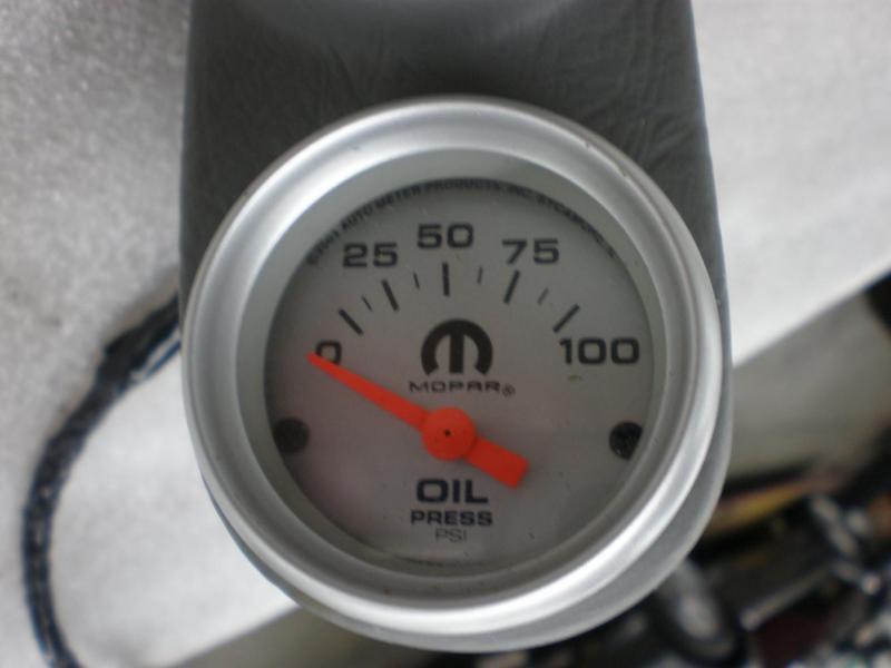 Turbo Boost   Vacuum Gauge  Egt And Oil Pressure