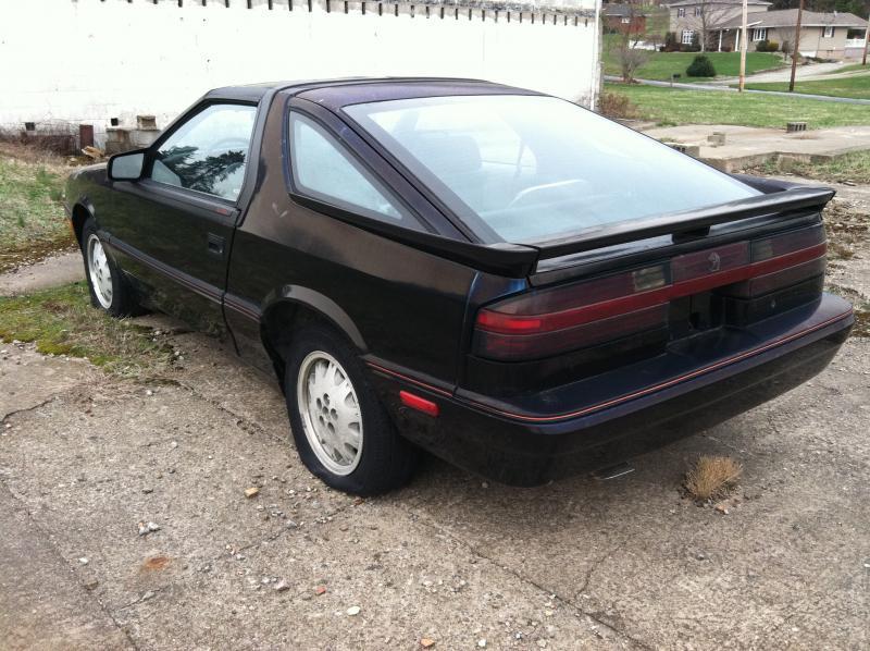 1988 Dodge Daytona Pacifica 1500 Turbo Dodge Forums