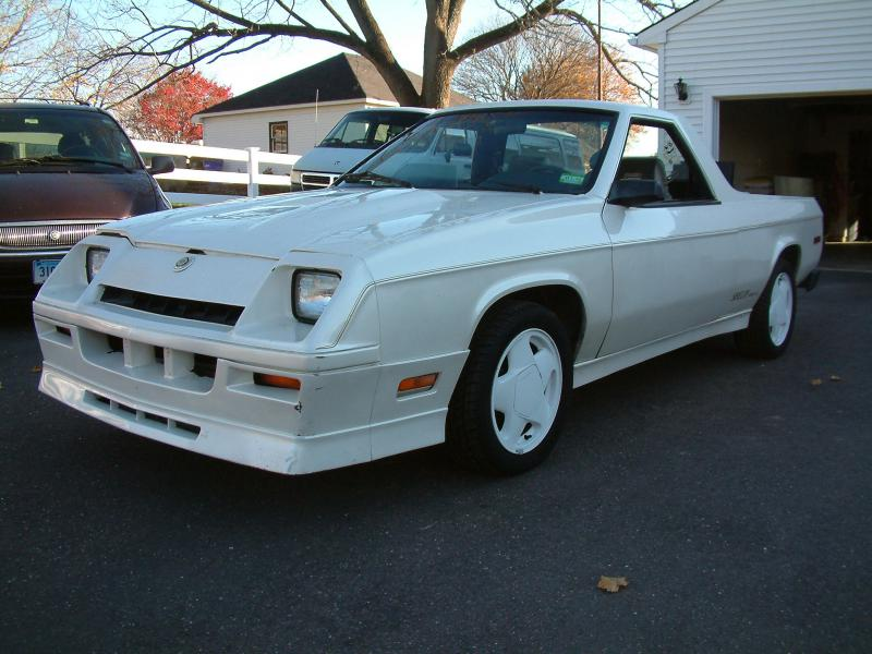 1984 Dodge Rampage - $2900.00 - Turbo Dodge Forums : Turbo Dodge ...