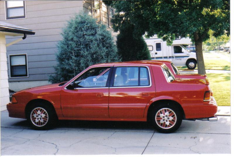 1991 Dodge Spirit R T 4 500 00 Turbo Dodge Forums