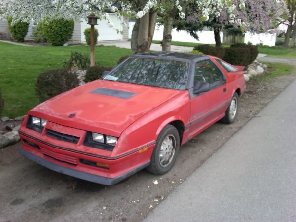 1986 Dodge Daytona turbo z - $00 obo-sativa-front.jpg