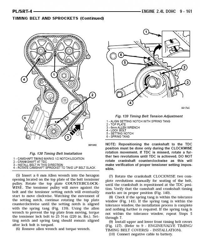 srt4 belt diagram 2 4l dohc timing belt diagram turbo dodge forums  2 4l dohc timing belt diagram turbo