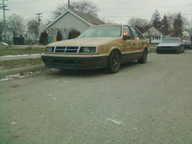 Usa 1986 Dodge Lancer Es -  1000