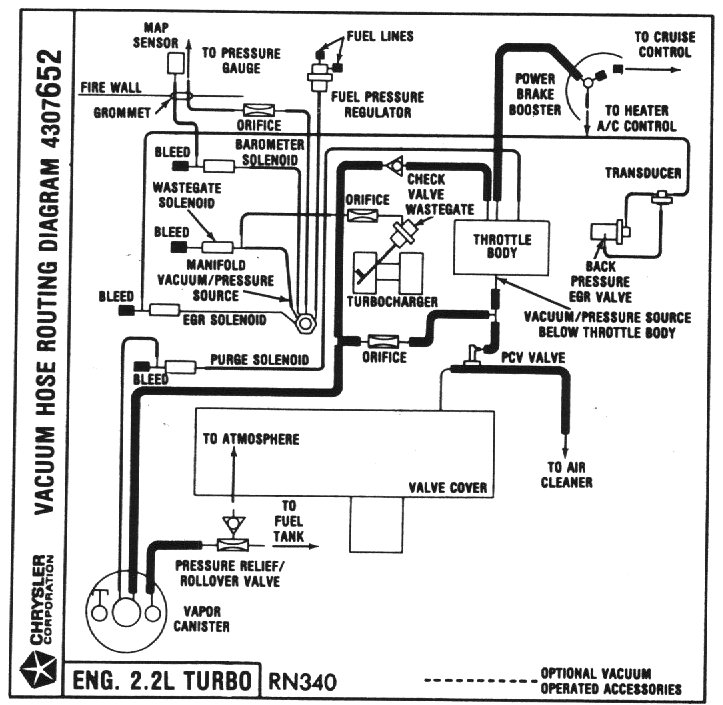 D Newbie Engine Loss Power Issue Vac T on 1988 Dodge Dakota Vacuum Line Diagram