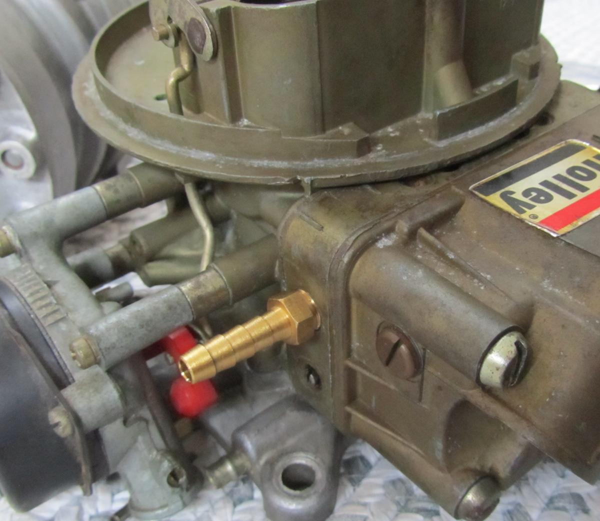 Fuel How To Boost Reference a Holley Carb - Turbo Dodge